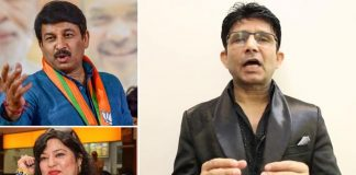 KRK Compares Manoj Tiwari Contesting Delhi Elections With Snatching Eggs From Dolly Bindra In Bigg Boss!