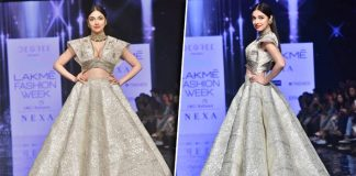 Lakme Fashion Week 2020: Divya Khosla Kumar Gracefully Avoids A Wardrobe Malfunction & Wins Internet's Love