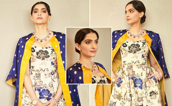 Learn How To Perfectly Infuse Western & Traditional Clothes Together From Sonam Kapoor's Latest Outfit