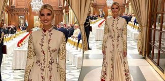 Looking For A Holi Outfit? Ivanka Trump's Floral Anarkali Fits The Bill