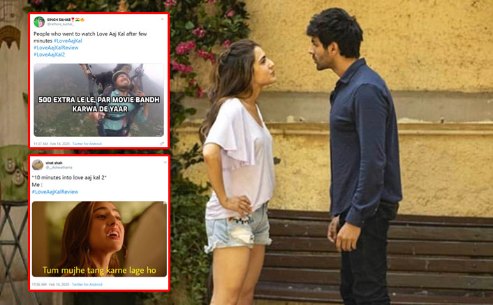 Love Aaj Kal MEMES: Mixed Reviews On Kartik Aaryan-Sara Ali Khan's Film Led To Plethora Of Mockery!