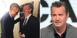 Matthew Perry Shares A Laugh With Former US President Barack Obama & We Wonder What Joke Did The Actor Crack