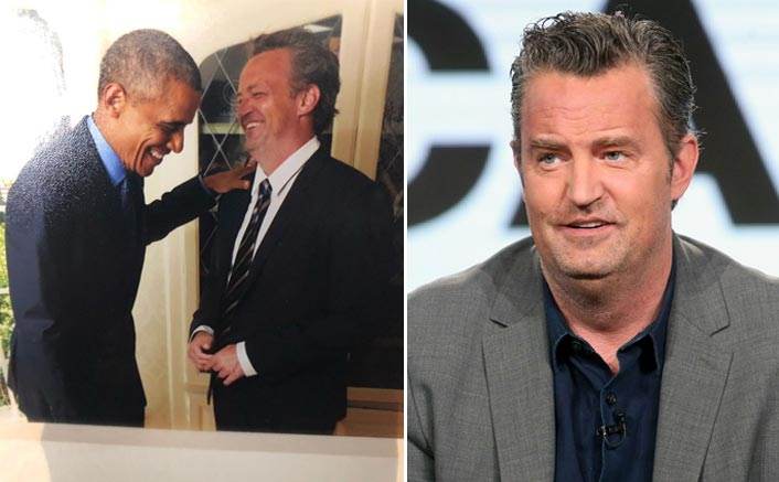 Matthew Perry Shares A Laugh With Former US President Barack Obama & We Wonder What Joke Did The Actor CrackMatthew Perry Shares A Laugh With Former US President Barack Obama & We Wonder What Joke Did The Actor Crack