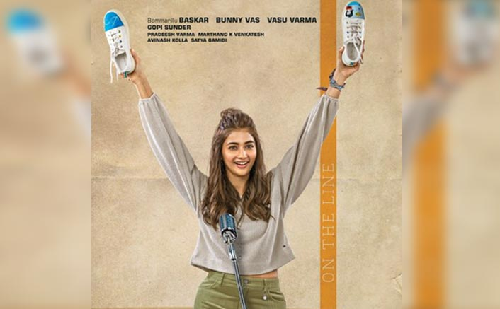 Most Eligible Bachelor Poster: Happy Go Lucky Pooja Hegde As The Most Eligible Bachelorette Looks Endearing