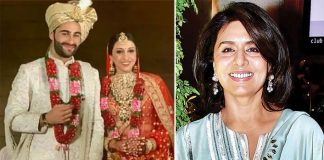 Neetu Kapoor welcomes Armaan Jain's bride Anissa into family