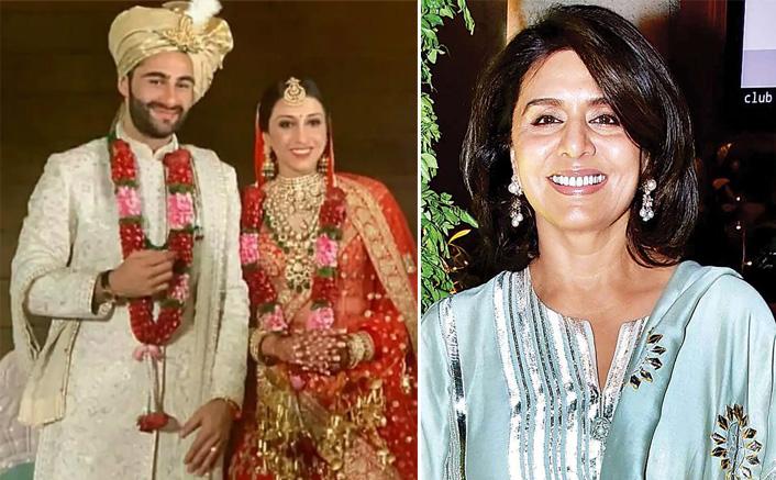 Neetu Kapoor welcomes Armaan Jain's bride Anissa into family