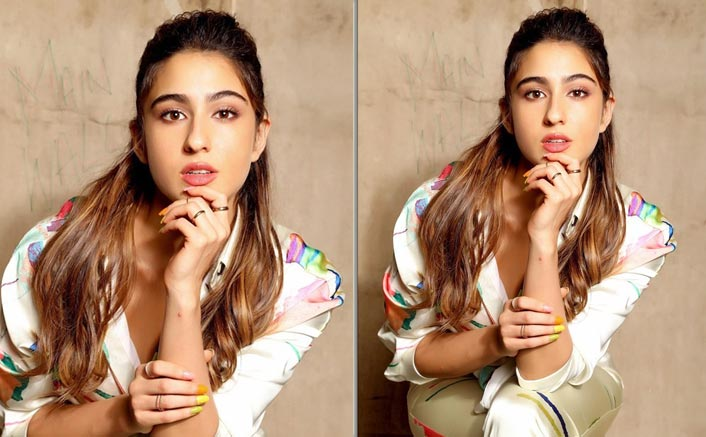 Once again, Sara Ali Khan is making a fashion statement as she steps promotes her upcoming movie!