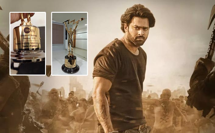 Prabhas Manages To Bag His First Ever Bollywood Award For Saaho