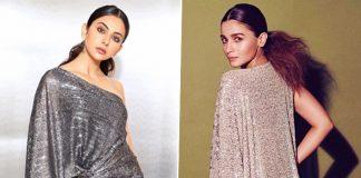 Rakul Preet Singh's Filmfare Attire Highly Inspired From Alia Bhatt's Golden High Slit Dress?