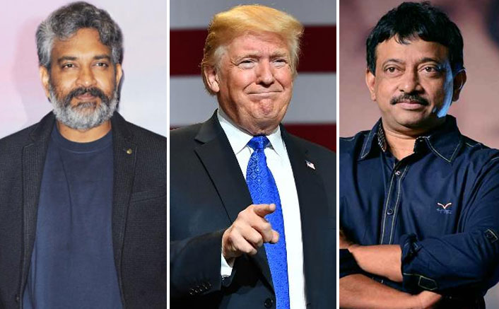 Ram Gopal Varma Takes A Funny Dig At US President Donald Trump & It Has A SS Rajamouli Connection!