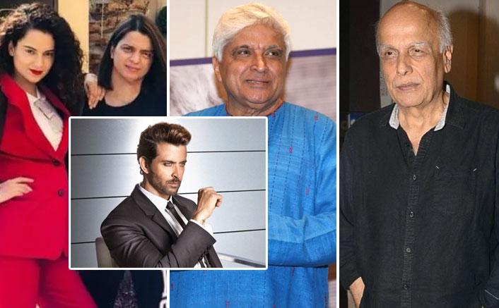 Rangoli Chandel Claims Javed Akhtar Threatened Kangana Ranaut To Say Sorry To Hrithik Roshan & Mahesh Bhatt Threw A 'Chappal' On Her