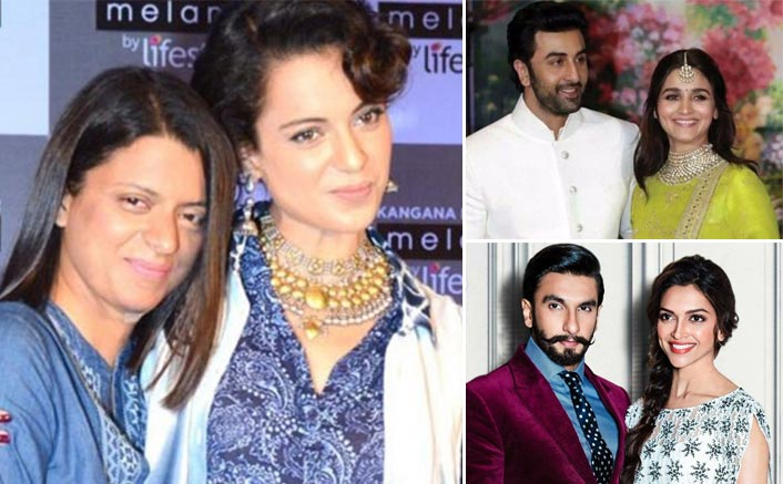 Kangana Ranaut's Sister Rangoli Claims Ranbir Kapoor-Alia Bhatt, Ranveer Singh-Deepika Padukone Go To Cheap Places For Vacations; See Tweet