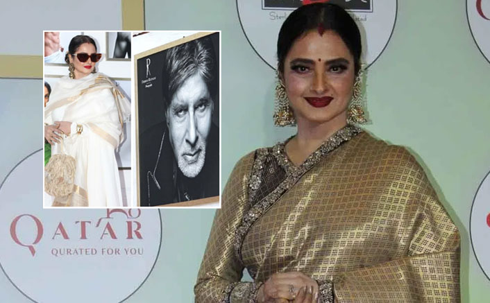 VIDEO: Rekha Did THIS When She Realised She Was Posing Next To Amitabh Bachchan & It's DANGEROUS!