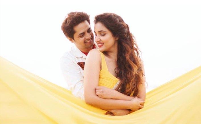 Rupali Bhosle and Ankit Magare ring in V-Day mush