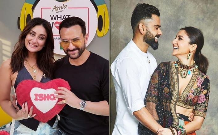 Saifeena reveal that Virushka is the other celebrity couple that is acing marriage on 104.8 Ishq's What Women Want 2