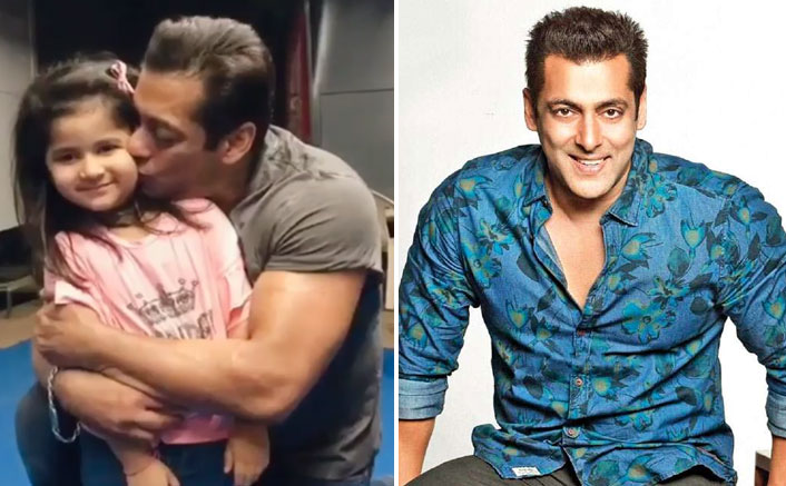 Salman Khan Greeting A Cute Little Fan Makes His Fans Wish He Has His Own Baby Soon