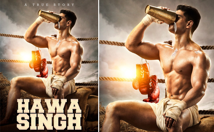 Salman Khan unveils the first look of the upcoming biopic on the Father of Indian Boxing - Hawa Singh, featuring Sooraj Pancholi.