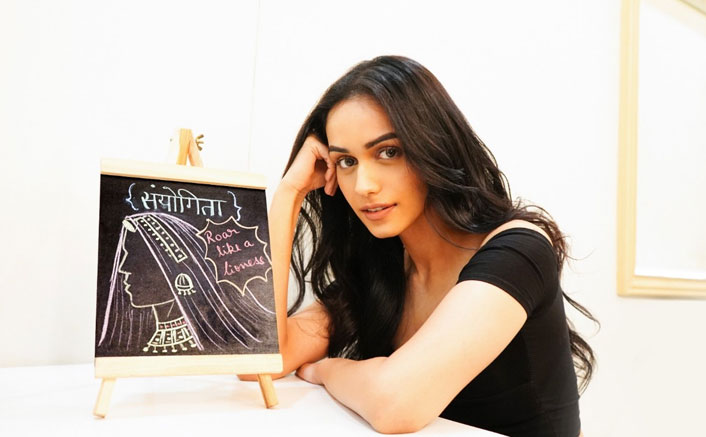 Prithviraj: Akshay Kumar's Co-Star Manushi Chhillar Doodles Her Character 'Sanyogita' & We Are Impressed!