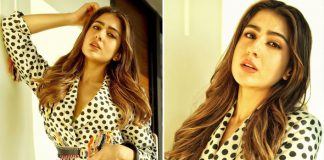 Sara Ali Khan's Polka Dot Printed Suit Can Be Your Go To For A Formal Fashionista Look!