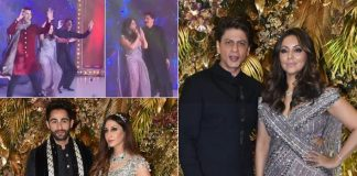 Shah Rukh Khan & Gauri Khan Are A Dancing Delight At Armaan Jain & Anissa Malhotra's Wedding Reception, WATCH