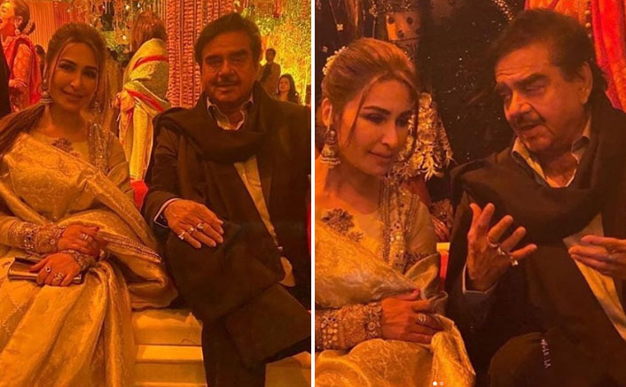 Shatrughan Sinha Spotted At A Lahore Wedding Alongside Pakistani Actress Reema Khan, Receives Major Backlash