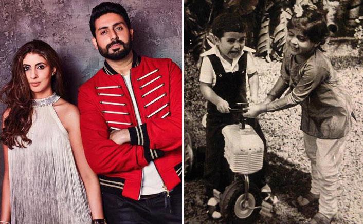 Happy Birthday Abhishek Bachchan! Shweta Bachchan Nanda Posts A Cute Throwback Photo To Wish Her Baby Brother