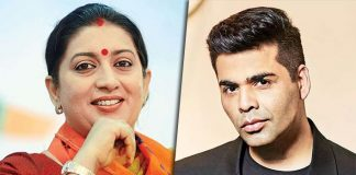 Smriti blames KJo's hamper for her weight gain