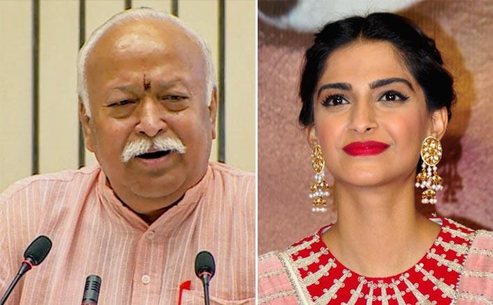 Sonam Kapoor Slams RSS Chief Mohan Bhagwat For His Divorce Remark, Calls It's A Regressive Foolish Statement