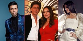 SRK, Ananya Panday, K.Jo at Gauri Khan's lavish party