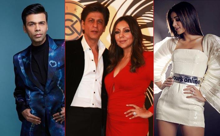 SRK, Ananya Panday, K.Jo at Gauri Khan's lavish party