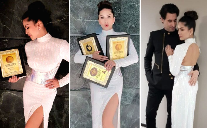 Sunny Leone Honoured With 3 Awards At 13th Asian Business & Social Forum
