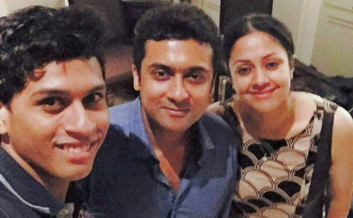 Suriya shares a 'happy selfie' with wife Jyothika