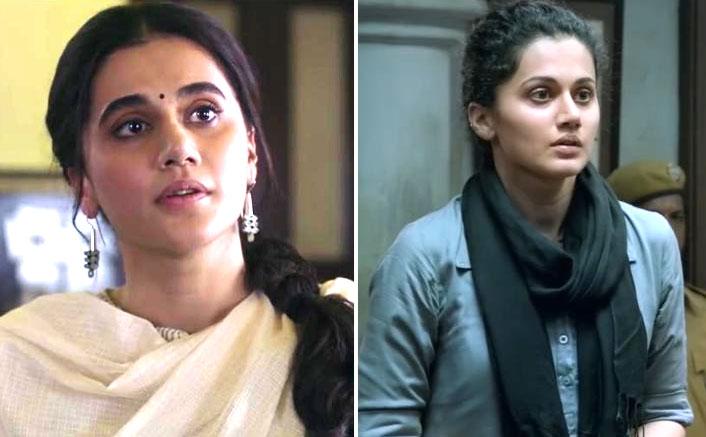 "Taapsee Pannu's dialogue from Thappad ""Ek Thappad! Par Nahi Maar Sakta"" reminds everyone of her Pink dialogue ""No Means No""!"