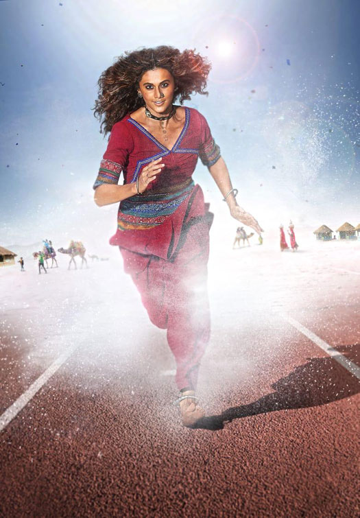 Taapsee Pannu's training for Rashmi Rocket inspires a local college to rename their gym after her!
