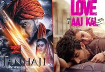 Tanhaji: The Unsung Warrior Box Office: Ajay Devgn Starrer Continues To Roar, Does More Business In 7th Weekend Then Love Aaj Kal's 2nd Weekend