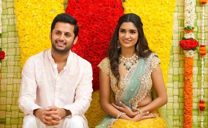 Srinivasa Kalyanam Fame Nithiin Gets Engaged To His Long Time Girlfriend Shalini