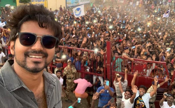 Post Tax Evasion Row, Thalapathy Vijay Returns To Master Sets; Receives GRAND Welcome!