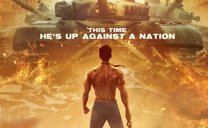 Baaghi 3: Bare-Chested Tiger Shroff Faces A Tank With A Rifle In Hand