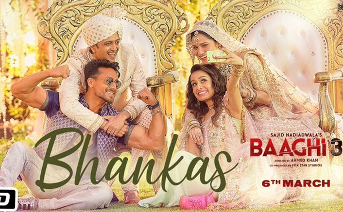 Baaghi 3 NEW Song Bhankas OUT! Tiger Shroff & Shraddha Kapoor Relive Nostalgia With 'Ek Aankh Maru'