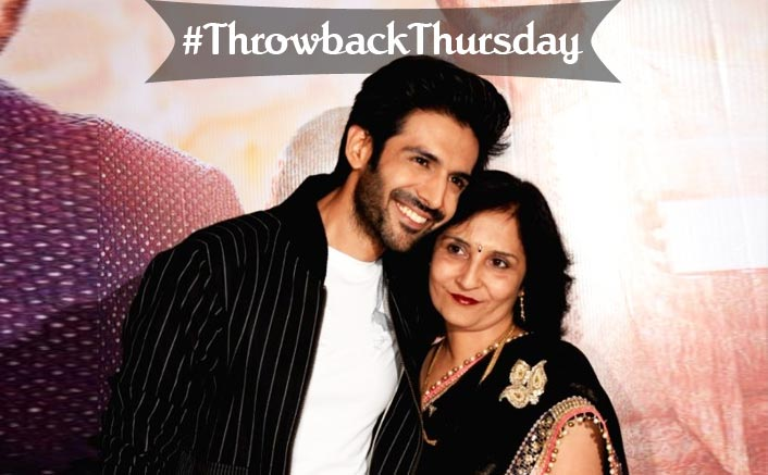 #ThrowbackThursday: When Kartik Aaryan's Mom Cried As He Kissed On-Screen