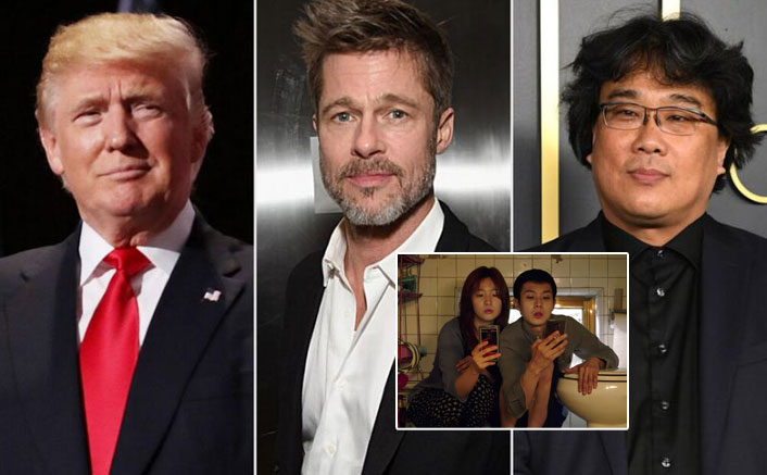 Trump slams S.Korean film 'Parasite', Brad Pitt at rally