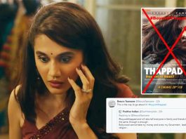 Twitterati Trend #BoycottThappad Based On An Old Photo Of Taapsee Pannu From Anti-CAA Protests