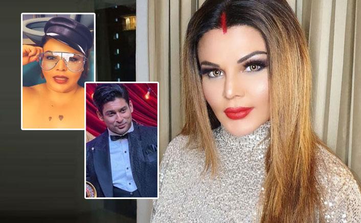 VIDEO: Rakhi Sawant's Message To Bigg Boss 13's Sidharth Shukla Straight From Her Bathtub!