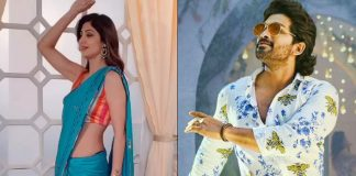 Shilpa Shetty's Dance To The Tunes Of Allu Arjun's Butta Bomma Is Too Sizzling! WATCH