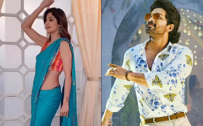 Watch: Shilpa Shetty Showcases Her Graceful Moves In A Saree To The Tunes Of Allu Arjun's Butta Bomma