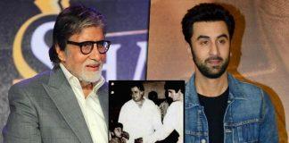When Big B met little Ranbir Kapoor 30 years ago