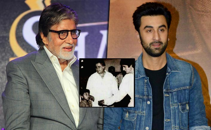 Amitabh Bachchan Goes Down The Memory Lane & Shares 30-Year Old Picture With Ranbir Kapoor