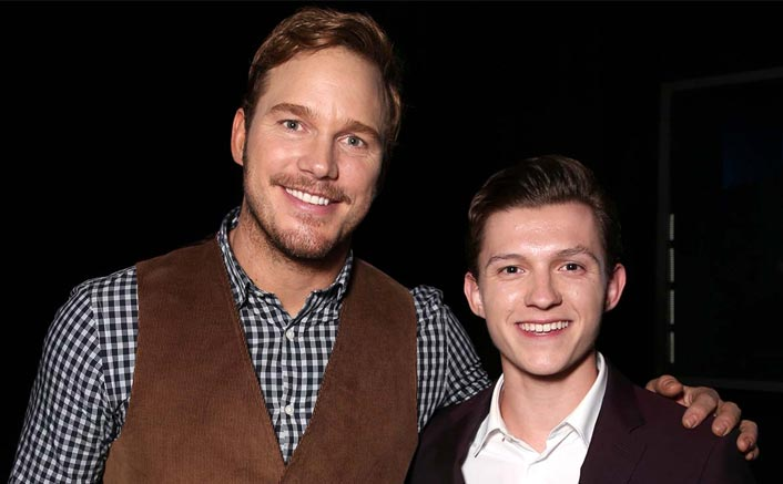 NOT Robert Downey Jr. BUT Spider-Man Tom Holland Bromances With Star-Lord Chris Pratt