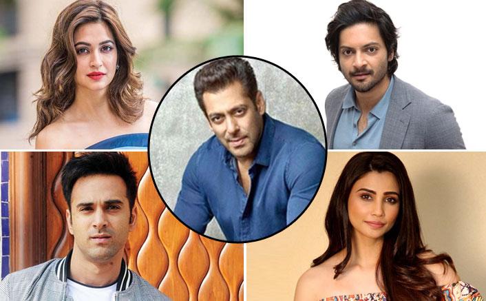 WOAH! Salman Khan Ropes In Kriti Kharbandha, Ali Fazal, Pulkit Samrat & Daisy Shah For His Next