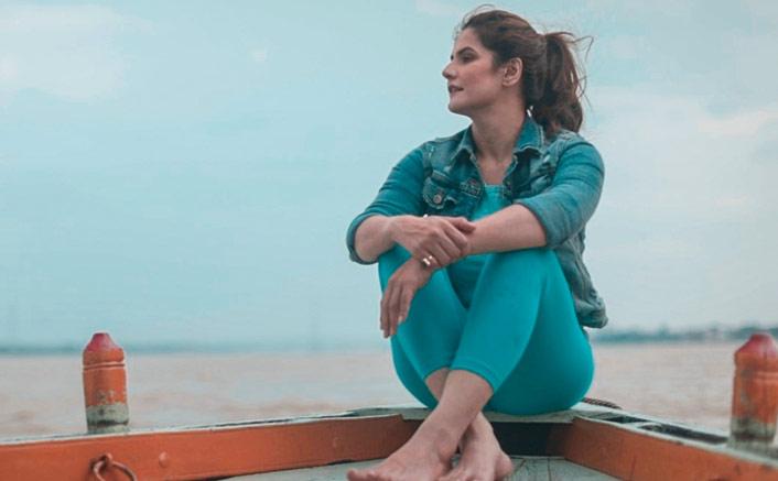 Zareen Khan's magical time in Varanasi